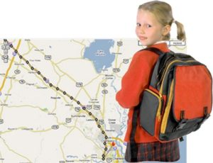 GPS-датчики, мобильное приложение  для детей